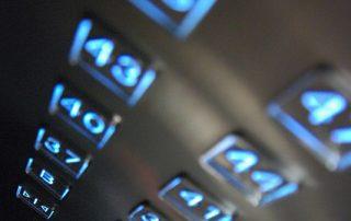 foto teclado ascensor