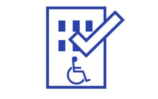 accesibilidad edificio icono