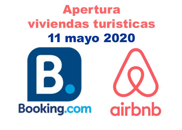 apertura vivienda turisticas 11 mayo